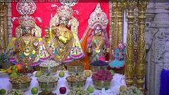 Radha Krishna Dev Rajbhog Darshan on Sat 19 May 2018 (bhujmandir) Tags: radha krishna dev lord maharaj swaminarayan hari bhagvan bhagwan bhuj mandir temple daily darshan swami narayan rajbhog