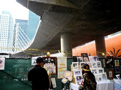 art alley (citymaus) Tags: howweird howard street fair faire streetfestival musicfestival art alley tehama soma sanfrancisco sf 2018 transbay bus bridge terminal artists prints painting paintings artwork