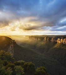 Blue Mountains National park (Mondayfoto) Tags: mountain blue mountains australia landscape view rock travel nature park national beautiful color background nsw range light valley sky forest sunset sisters three great summer canyon adventure nikon