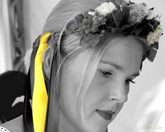 Yellow Ribbon (Erkad Lux) Tags: ucrania girl ribbon protrait