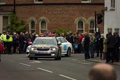Race control (barronr) Tags: england knaresborough rkabworks tourdeyorkshire yorkshire bathgatephotographer caravan control cycling race support