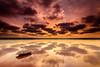 Lago salado (Juan Galián) Tags: paisaje landscape agua water salinas torrevieja spain canon clouds nubes reflejos atardecer sunrise sunset reflexes nature lago lake laguna españa puestadesol
