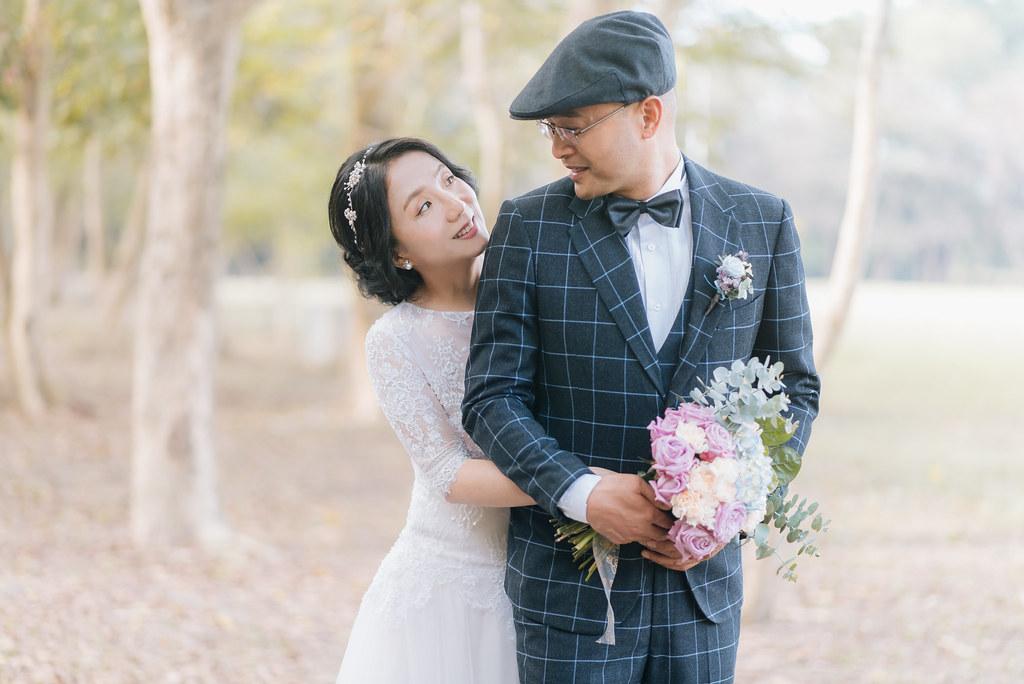 [自助婚紗] 亮亮&雯靖|高雄宏南社區