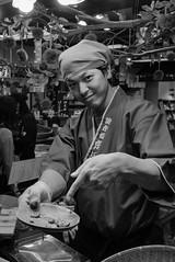 Kyoto-1 (rwscholte) Tags: market portrait bnw blackandwhite japan kyoto streetphotography rwscholte people leica leicadluxtyp109 availablelight