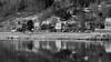 Black and wihte (joningic) Tags: pollurinn pond akureyri iceland innbærinn innbær icelandic blackandwhite reflection nature northiceland urbannature