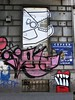 SATU, Idiot ... / Bruxelles - 5 mai 2018 (Ferdinand 'Ferre' Feys) Tags: bxl brussels bruxelles brussel belgium belgique belgië streetart artdelarue graffitiart graffiti graff urbanart urbanarte arteurbano ferdinandfeys satu idiot