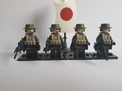 SFG - Special Forces Group (影Shadow98) Tags: lego special forces brickarms minifigcat tinytactical jgsdf sfg japanese