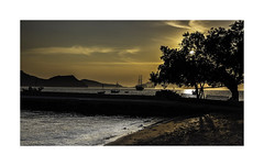 3544b  Evening Light (foxxyg2) Tags: night evening sunset sundown water aegean boats yachts transport coast coastal gold beach klima milos cyclades greece greekislands islandlife islandhopping niksoftware