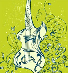Acoustic Guitar with Floral T-shirt Design Vector (stockgraphicdesigns) Tags: acoustic audio bass blossom bouquet cello club concert decor decoration decorative disco electronic elegant entertainment equipment filigree floral flourish flowers grunge guitar instruments melody music musical nature object orchestra ornamental ornaments ornate party petal play rock smartpack14 song sound splash splatter string strings swirl