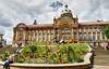 Birmingham Council House, Victoria Square. (Manoo Mistry) Tags: birminghamuk nikond5500 tamron tamron18270mmzoomlens englanduk westmidlands birminghamcouncilhouse councilhouse architecture historical fountains sky