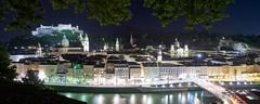 Salzburg @ night (parghami) Tags: salzburgnight nacht night salzburg austria panorama