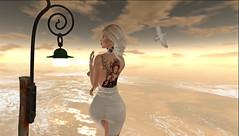 MIDORI Tattoo - Altamura - At The Expo Fair (danaorianaor) Tags: theexpofaie altamura e tatto ink midori midoritattoo secondlife avatar salt blonde beauty beach dove blog maitreya catwa catya hair bodymoles sexy trans