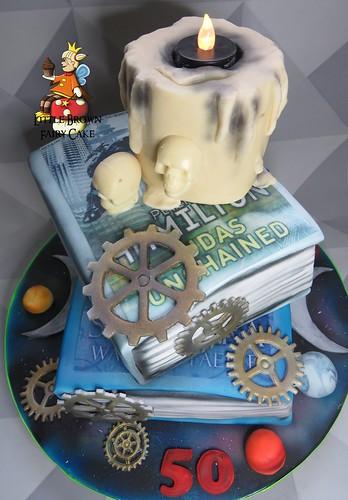 a sci fi cake