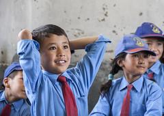 Education can be fun (bag_lady) Tags: schoolchildren sumur modelschool learning educationcanbefun nubravalley ladakh india jammuandkashmir education buddhist explore