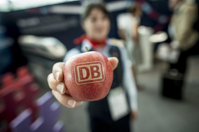 Deutsche Bahn's apples
