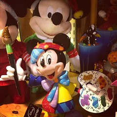 Mickey Mouse in Gift Shop (booboo_babies) Tags: mickeymouse disney display cute artist mouse classic