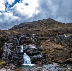 Glencoe Waterfall. (Quiet man 72) Tags: glencoe waterfall nikond90 tamron18200mm