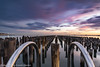 Princes Pier (rsoputro) Tags: princespier portmelbourne sunset victoria australia au longexposure haidafilter neutraldensity
