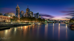 Melbourne Sunrise (Laith Stevens Photography) Tags: olympus omd olympusinspired omdem1 olympusomd olympusau olympusaustralia outdoor omdem1mkii goneawol getolympus ngc vivid vacation visitaustralia victoria visitmelbourne melbourne longexposure 714mmf28pro smooth sunrise cool colour color citylights cityscape city landscape yarra clouds bluehour victoriatourism melbournecitycouncil melbournetourism beautiful gone awol gloomy lights 714mm exposure long gotham clear detailed awesome night wide lightstreaks trains tripod