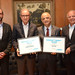 O Governador do Estado de São Paulo,  Márcio França, recebe Prêmio Poupatempo DataFolha