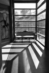 shadowplay (lucymagoo_images) Tags: sony rx100 baltimore maryland city urban bw monochrome shadows light