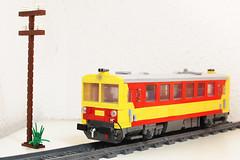 MÁV Bzmot (/Rob/) Tags: lego moc máv bzmot vonat train