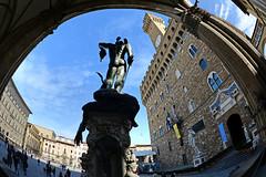 Palazzo Vecchio 舊宮 (MelindaChan ^..^) Tags: italy 意大利 florence 佛羅倫斯 heritage italian chanmelmel mel melinda melindachan history architecture palazzovechio 舊宮 palace