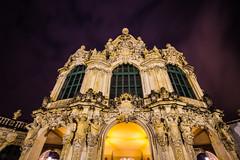 Dresden2018_079 (schulzharri) Tags: dresden sachsen saxon germany deutschland europa europe old zwinger town stadt city night dark outside drausen dunkel nacht licht
