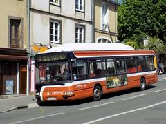 Renault-Irisbus Agora S GNV n°665 (ChristopherSNCF56) Tags: eperon mans autobus bus irisbus renault agora s gnv ligne 4 setram 665