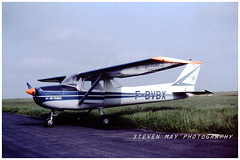 F-BVBX Cessna 150  Aeroclub Air France (SPRedSteve) Tags: fbvbx cessna 150 air france aeroclub 1981 reims 150l f150 f150l