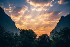 Wat Sunrise (dogslobber) Tags: yellow wat pa tam wua mae hong son thailand vipassana meditation retreat south east asia buddhism buddha