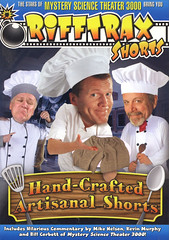 Rifftrax-Shorts-Hand-Crafted-Artisanal-Shorts (Count_Strad) Tags: movie dvd bluray rifftrax badmovie filmcrew horror action comedy drama blockbustervideo rules