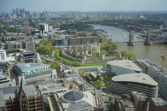 View from the Sky Garden, London (Loïc BROHARD) Tags: london visitlondon travel discover wanderlust explore skyline skyscrapers