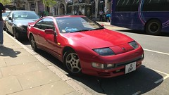 Nissan 300ZX (Sam Tait) Tags: car japanese classic rare retro 30 red zx 300zx 300 nissan