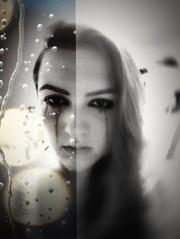 TheWorldOfFem (Lothbrok'sYen) Tags: portrait daughter blackwhite blackandwhite face sad eyes