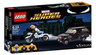 Lego Marvel Venom We are Venom 75494 Set !!! Photoshop