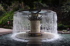 A Fountain Waterfall (henriksundholm.com) Tags: fountain water wet waterfall park hongkongpark froth ripples city urban daylight steps hongkong china asia