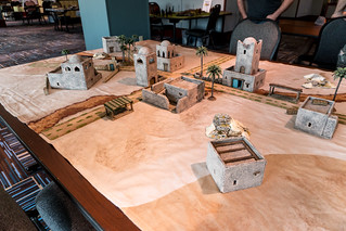2018 Warlord Games Con - Day 1, Setup