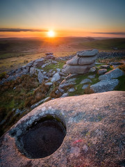 Sunset on Stowes (Timothy Gilbert) Tags: minions stoweshill bodminmoor wideangle sunset microfourthirds m43 ultrawide panasonic laowacompactdreamer75mmf20 gx8 lumix cornwall boulders rocks