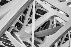 Spikes (G Reeves) Tags: nikon nikond810 garyreeves abstract architecture buildings outside urban bw blackwhite blackandwhite monochrome closeup valencia spain concrete