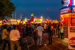 NC State Fair 2018 (64) (tommaync) Tags: ncstatefair2017 nc northcarolina statefair 2017 october nikon d40 raleigh midway night nighttime stands food people