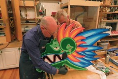 Creating the Art Float - Tam Makers - May 2018 - Photo - 38