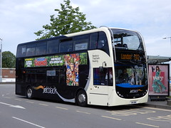 Reading Buses 1205 - SN11 BWE (Berkshire Bus Pics) Tags: reading buses 1205 sn11bwe alexander dennis enviro 400 slough greenline