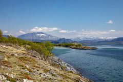 Hike (G E Nilsen) Tags: hike mountain sky clouds sea norway nordnorge northernnorway norwegiancoast