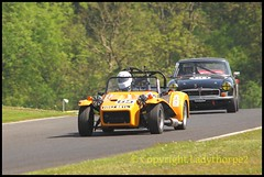 Cadwell Park Wolds Trophy 2018 (ladythorpe2) Tags: hscc 70s road sports cars wolds trophy cadwell park near louth lincolnshire 61 lawrence alexander alfa romeo gtv uk 65 steve cooke lotus seven s4