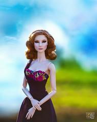 Fashion Royalty Downton Abbey Feeling Wild Giselle (elena.seregina) Tags: fr fashionroyalty fashion fashiondoll fashionroyaltydoll fashiondolls dollfashion style jasonwudoll jasonwu integrity integritytoys fashionroyaltydowntonabbeyfeelingwildgiselle fashionroyaltygiselle dollportrait portrait smoke