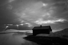 (penerik) Tags: mountains hardangervidda blackwhite cabin sunshafts drama dark norway norwegian noir noire