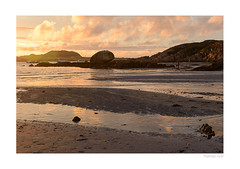 Ebbing of the Day (m_graf67) Tags: sunset tide fionnphort mull isle scotland coast beach sea landscape uk
