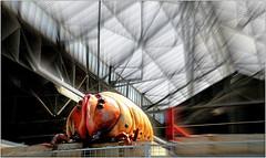 """""""Kanal - Centre Pompidou"""", ancien garage Citroën-Yser, quai des Péniches, Bruxelles, Belgium (claude lina) Tags: claudelina belgium belgique belgië bruxelles brussels musée museum kanal kanalcentrepompidou garagecitroën exposition garagecitrënyser citroën"""