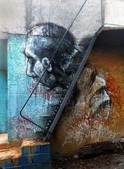 Unknown (BLIND (ELF CREW)) Tags: blindelf muralart graffiti streetart urbanart mixedmedia collaboration portrait vandalism texture tag throwup irangraffiti persiangraffiti iranstreetart eastreetart iranurbanart iranianart persianart experimental گرافيتى blindelfcrew